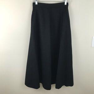 J. Crew 100% Wool Midi Skirt